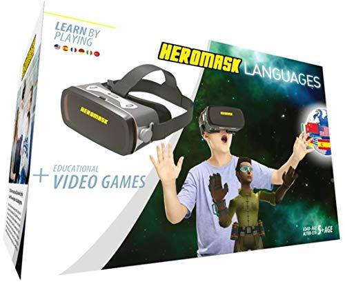 Gafas Realidad Virtual Niños + Juego Educativo Idiomas  Reg