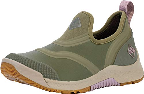 Muck Boot Women's Outscape Low, Olive - 8.5