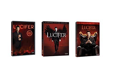LUCIFER- STAGIONI DA 1 A 3 (11 DVD) COFANETTI SINGOLI, EDIZIONE ITALIANA
