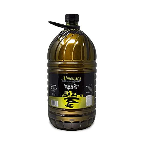Almenara - Aceite de Oliva Virgen Extra Premium en Garrafa de 5 L