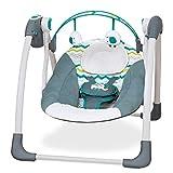 Mastela Deluxe Portable Baby Swing Toddler Swing - Blue