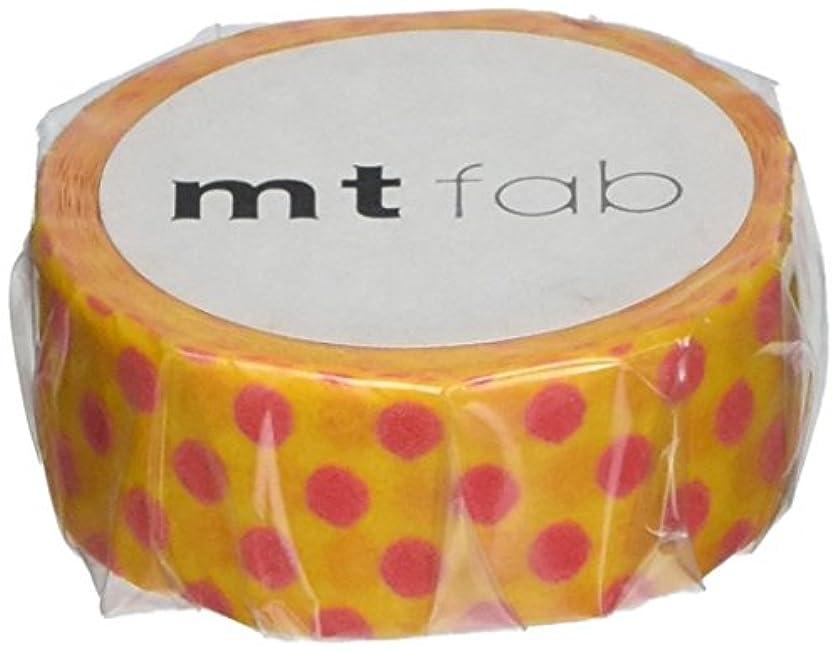MT Flocky Tape, 15mm x 3m, Dot Yellow/Red (MTFL1P08)