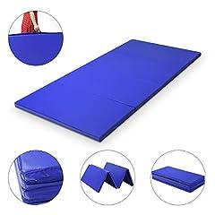 COSTWAY 240x120x5cm Gymnastikmatte klappbar Yogamatte