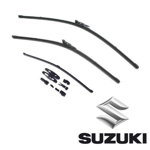 AOQ – Spazzole tergicristallo anteriori e posteriore set da 3 - Suzuki Swift, Ignis, Vitara