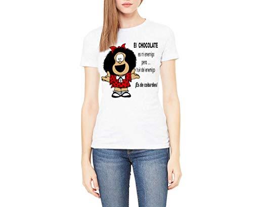 Camiseta Mafalda (Blanca, M)