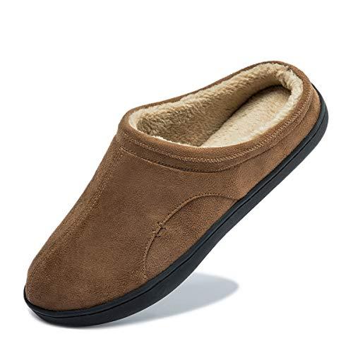 [Miqieer] サンダル 冬 ルームシューズ メンズ サボサンダル ボア付き 防寒 暖かい 滑り止め 消音タイプ クロッグ スリッパ 室内履き