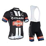 logas Männer Fahrrad-Club Cycling Team Bekleidung Jersey Shirts Kurze Hosen Set Sportbekleidung
