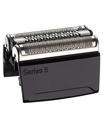 Braun Series 5 Rasierer Ersatz Folie Und Trimmer Kopf-Kassette Mit Ultra-Active-Lift Mittleren Trimmer Und Fadenkreuz Entworfen, Folie, Schwarz Lackiert