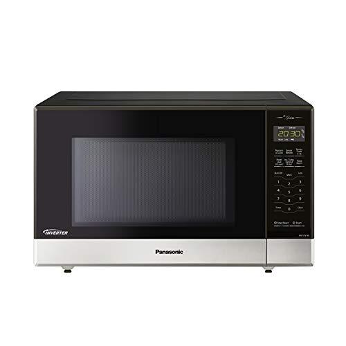 Panasonic NNST676S Genius Mid-Size Microwave Oven, Stainless Steel