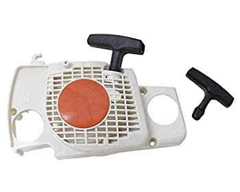 Poweka Recoil Pull Starter Start Handle Fit for Stihl Ms170 Ms180 Ms180c 017 018 Chainsaw Replace 1130 080 2100