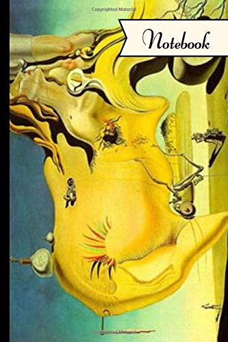 Notebook: The Great Masturbator ~ Salvador Dali Inspired Notebook/Journal With 120 Lined Pages 6'x9' ~ by Victoria Prints