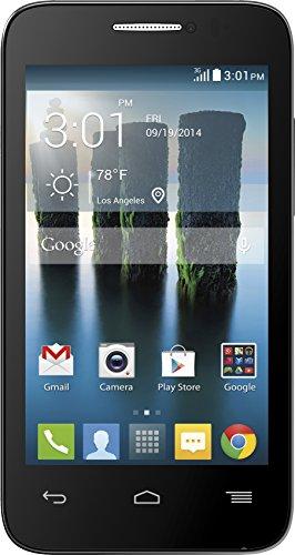 Alcatel One Touch Evolve 2 Black - No Contract (T-Mobile)