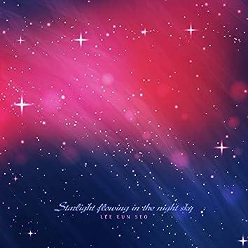 Starlight in the night sky