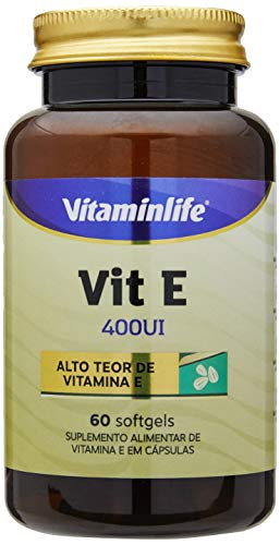 Vitamina E 400UI - 60 Softgels, VitaminLife