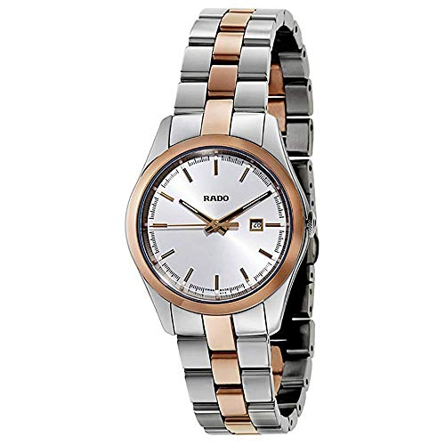 Rado HyperChrome Silver Dial Stainless Steel & Ceramos Ladies Watch R32976102
