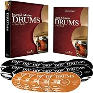 Learn & Master Drums [Book/Dvd]/Cd Pack Legacy Of Learning Series