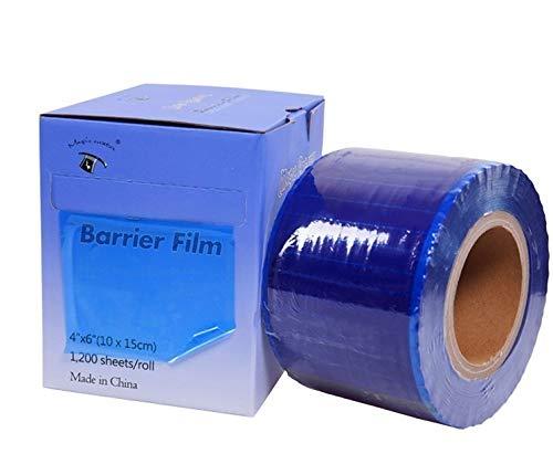 DGT Barrier Film BLUE 4' X 6' Size 1200 Sheets Roll Style Dispenser Box.