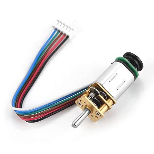 モーターギアモーター 磁気コードディスクホールエンコーダを搭載したDC 6Vギアモーター2W GBMQ-GM12BY20 ギアモーター(6V 30RPM)