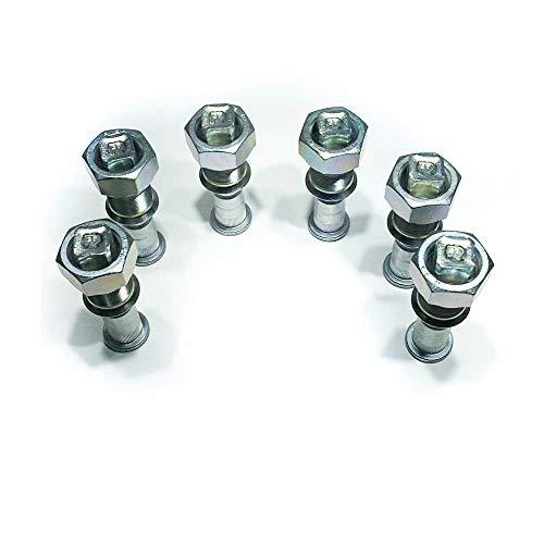 Wheel Nuts & Stud; Kit Rear Rh (6 Pack) .ISUZU NPR, NPR-HD, NQR, NRR, REACH