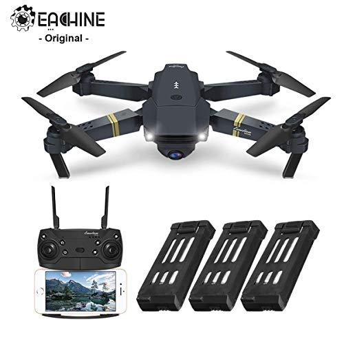 EACHINE E58 Drone Pliable Quadcopter, Drone avec caméra 720P HD FPV WiFi Drone avec Camera 2.0MP -...
