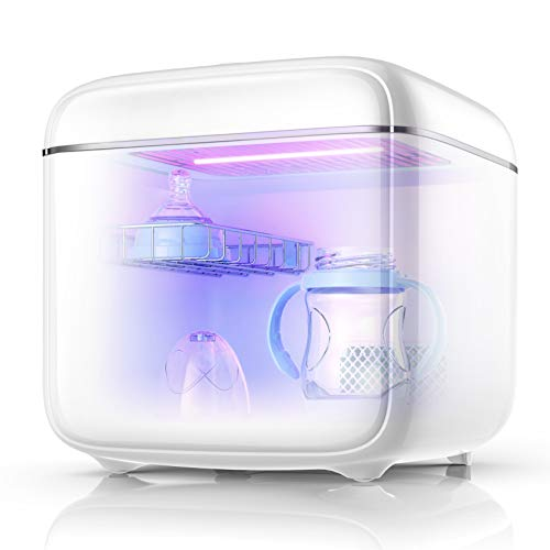 UV Sanitizer UV-C Clean Sterilizer and Dryer for Baby Bottle/CPAP/Toys/Clothes/Toothbrush/Beauty Tools/Tableware/Phone