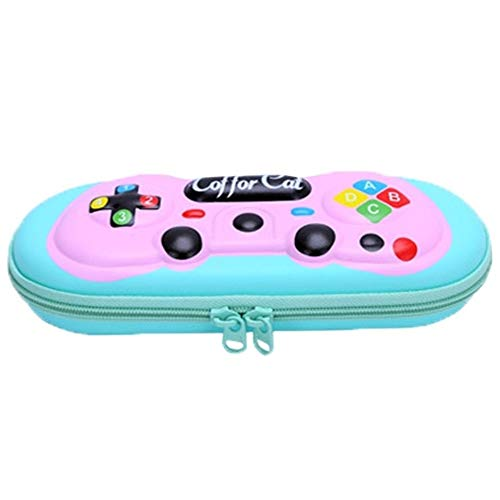 Multifuncional Estuche de lápices Game Boy caja de lápiz de Shell duro de la máquina de juego de la pluma Caja de lápiz bolsa caja de escritorio con lápiz embroma el regalo Suministros titular de la E