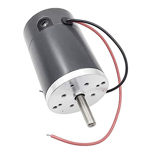 Motor eléctrico de alta velocidad de 12 V 24 V CC.-Motor de...
