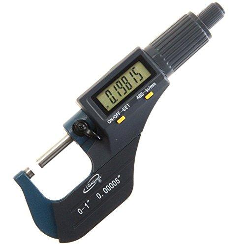 iGaging 0-1' Digital Electronic Micrometer w/Large Display Inch/Metric
