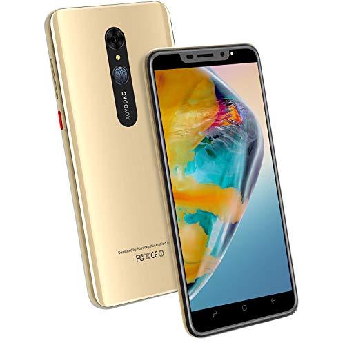 4G Smartphone Offerta, 16GB ROM Smartphone Android 9.0 Pie 5 8MP Fotocamera, 4800mAh 5.5 Pollici Telefono Cellulare Quad Core Dual SIM, Face ID e Impronte Digitali ID Cellulari e Smartphone