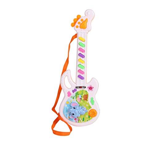 TOYMYTOY Kindergitarre Spielzeug Musikinstrument für Kleinkind Baby Kinder (Zufällige Farbe und Stil)