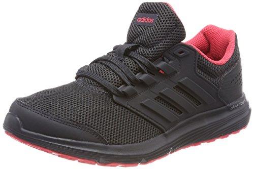Adidas Galaxy 4, Zapatillas de Running para Mujer, Negro (Core Black/Carbon/Real Coral 0), 40 EU