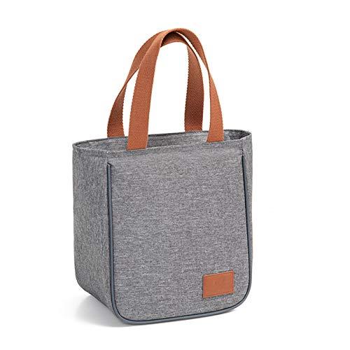 JCNVT Bolsa del Almuerzo, Bolsa de Asas Familia Viajes Picnic Bebida Fruta Alimento Fresco Aislamiento Damas Hombres Cool Bento Bento Box Bag para Mujeres, Adultos, Estudiantes (Color : Style 2)