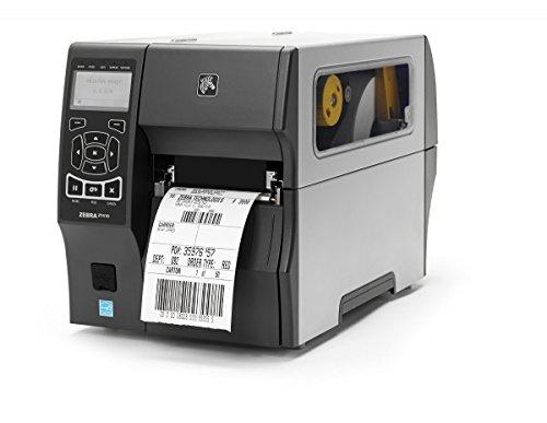 Zebra Zt41042-t0ec000z TT imprimante ZT410: 10,2cm, 203dpi, Euro et anglaise, série, 10/100Ethernet, Bluetooth 2.1/MFI, USB Host, carte sans fil 802.11a/b/g/n: reste du monde (rangée), Ezpl