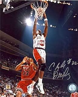 Autographed Clyde Drexler Picture - 8x10 - Autographed NBA Photos