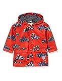 Hatley Printed Raincoat Impermeable Estampado, Farm Tractors, 18-24 Months para Bebés