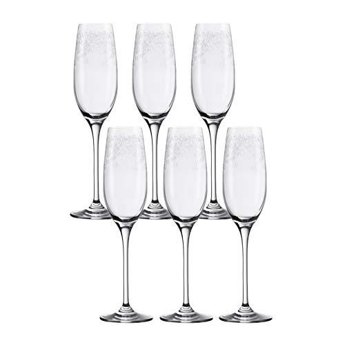 Leonardo Chateau - Juego de copas de champán (6 unidades)