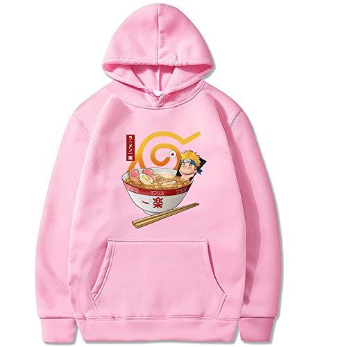 CTOOO Unisex Anmie Naruto Impreso Harajuku Hoodies Pullover Cosplay Sudadera Tops Abrigo