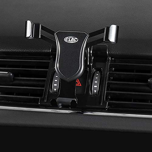 HIGH FLYING kompatibel für Octavia Limousine Combi 2014-2019 Handyhalterung Auto Lüftung KFZ Halterung 360 Grad Drehung (Schwarz)