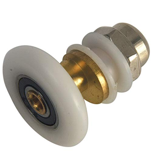 G.Y.X Badezimmer Schiebetür Rad Duschtüren Rad Wasserdicht Legierung Easy Glide Washroom Glas Roller Durable Roller (Größe : 27mm)