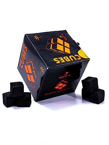 """Dschinni Cubes Deluxe Boxkohle 1 kg (im Karton)""""Einführungsangebot"""""""