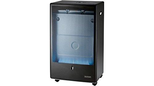 Rowi – Gaskocher mit blauer Flamme, anthrazit, 4200 W, Thermostat, Pro