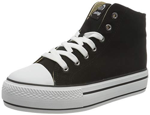 MUSTANG Damen Bigger-k Leichtathletik-Schuh, Canvas Negro, 36 EU