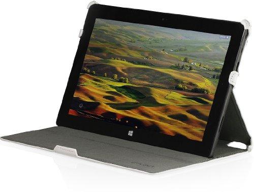 StilGut UltraSlim Hülle mit Stand- & Präsentationsfunktion Hülle für Microsoft Surface RT, weiß