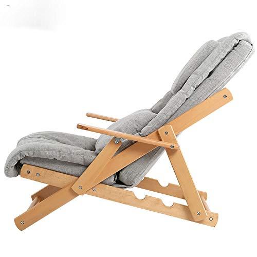 REWD schommelstoel vouwen handige mobiele massage ligstoel voor kantoor balkon lichtgewicht