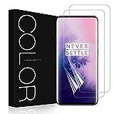 G-Color OnePlus 7 Pro/ OnePlus 7T Pro Protector de Pantalla, [2 Piezas][Alta Definición y Sensibilidad][Sin Burbujas] TPU, Protector de Pantalla para OnePlus 7T Pro/ OnePlus 7 Pro