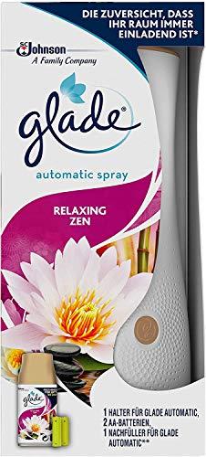 Glade (Brise) Automatic Spray, Raumduft, Halter inkl. 1 Nachfüller, Relaxing Zen, 269 ml