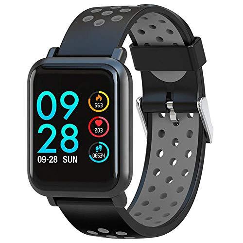 NILINMA Waterproof Multiple Sports Mode 2.5D Screen Gorilla Glass Blood Oxygen Blood Pressure IP68 Waterproof Activity Tracker Smart Watch
