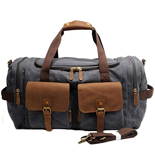 Our #3 Pick is the Kemy's Canvas Duffel Bag