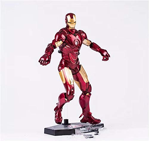 WAHE Toy Model Avengers 3 HC Iron Man MK4 1/6 Movable Boxed Hand Desktop Table Size 28cm