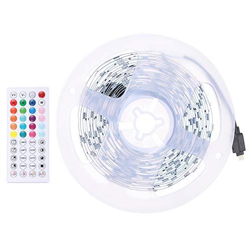 Tiras Led RGB 5050 Música 5/10M Strip de Luces Bluetooth Led Iluminación Control de APP y de Control Remoto para Hogar, Dormitorio, TV, Cocina, Escritorio, Decoración de Bar (10m)